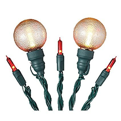 Holiday Living 30 ct LED Battery Operated Red Mini /& White Globe Lights