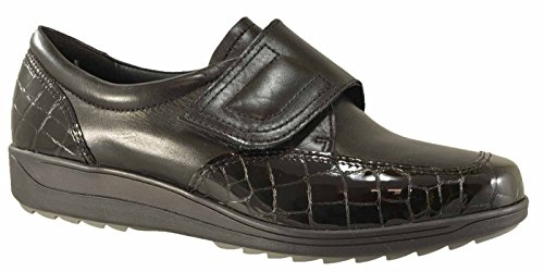 Zapato 46327 12 Ara Negro Mujer Ancho H Meran Z6qwz5wI