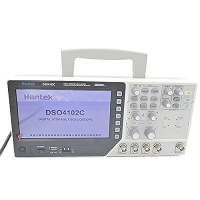 Hantek DSO4102C 2 Channel Digital Oscilloscope, 1 Channel Arbitrary/Function Waveform Generator 100MHz 40K 1GS/s