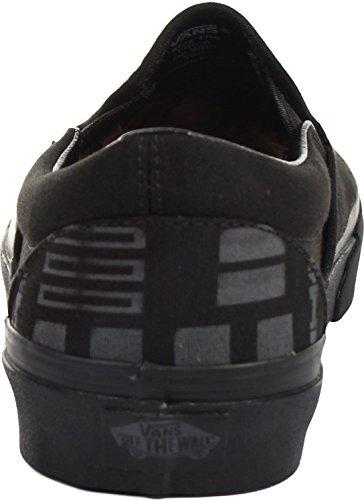 Vans Classic Slip-On Herren Sneaker Schwarz
