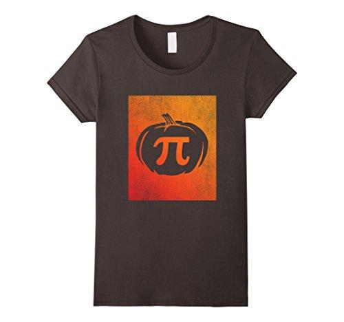 Womens Pumpkin Pi Shirt Funny Math Halloween Costume Gift Idea Medium (Math Halloween Costume Ideas)