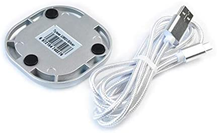 Elikliv 360/° Omni-Directional Stereo Conference Microphone USB Port for Desktop Computer Conference Meeting Amplifier