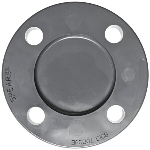 Spears series pvc pipe fitting blind flange class