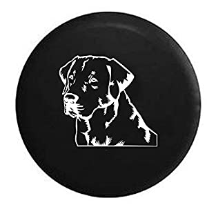 Fj Cruiser 285 75r17 >> Amazon.com: Lab Labrador Retriever Gun Dog Lover K9 Jeep Spare Tire Cover OEM Vinyl Black 32-33 ...