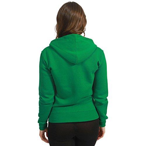 Jade Lunghe Felpa Green Maniche Cappuccio Con Malaika Donna Basic dzHw014qq