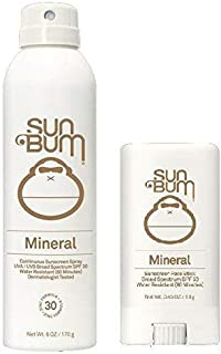 product image for Sun Bum Mineral Sun Care (Mineral Sunscreen Spray and Mineral Face Stick)