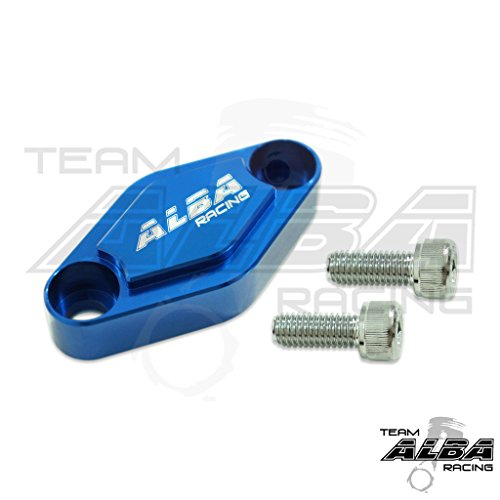 Billet Raptor 700 Parking Brake Block Off Blue (all years)