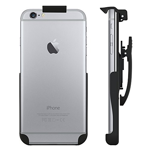 Seidio Spring-Clip Holster for Non-Cased iPhone 6 Plus/6s Plus - Retail Packaging - Black
