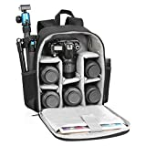 CADeN Camera Backpack Bag Professional for DSLR/SLR Mirrorless Camera Waterproof, Camera Case Compatible