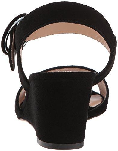 LK BENNETT Women's Bailey Wedge Sandal Black (Black 002) JVmMzJ0UX