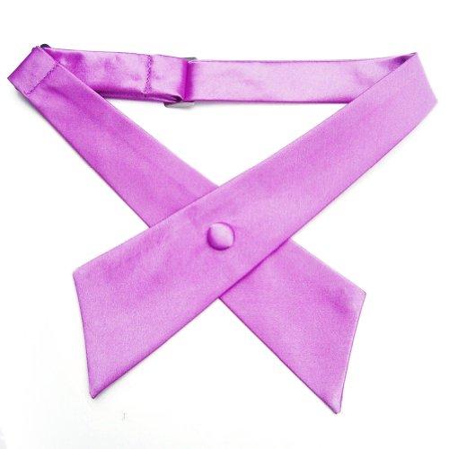 TopTie Criss-Cross Tie, Girls' School Uniform Cross Tie-Black by TOPTIE (Image #6)