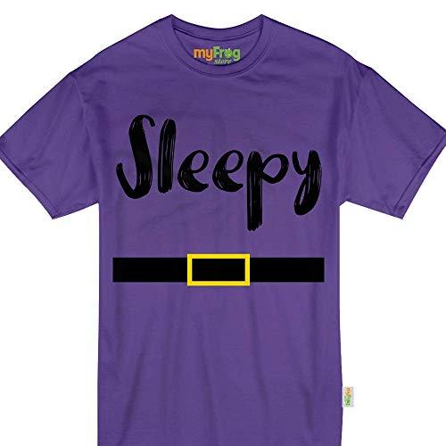 My Frog Store Sleepy Dwarf Halloween Family Matching Costume Tshirt -