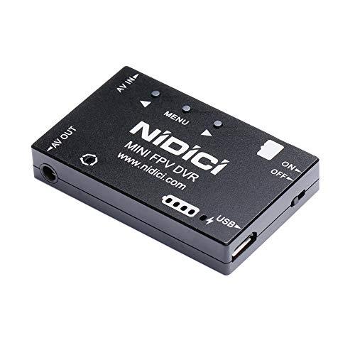 Mini Dvr - NIDICI Mini FPV DVR Video Audio Recorder 720P NTSC/PAL Switchable Aluminum Alloy Casing for FPV Racing Drone Quadcopter