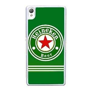 Pattern Hard Case Cover Sony Xperia Z3 Cell Phone Case White Heineken Iyshs Back Skin Case Shell