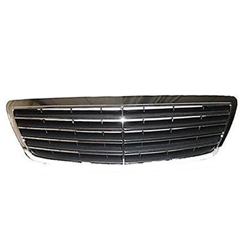 Koolzap For 03-06 S-Class Front Grill Grille Assembly Chrome/Gray MB1200125 22088005837712