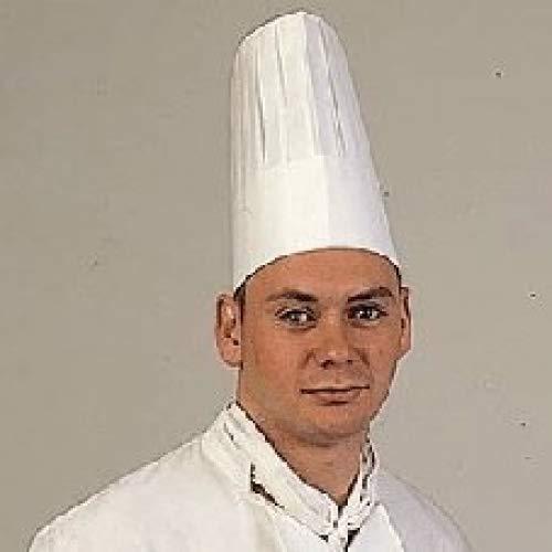 Garcia de Pou Classic Chef's Hat in Box, 23 cm, Airlaid, White, 23 x 30 x 30 cm Garcia de Pou_155.16