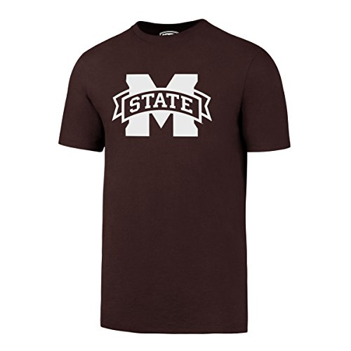 (NCAA Mississippi State Bulldogs Men's OTS Rival Tee, X-Large, Dark Maroon)