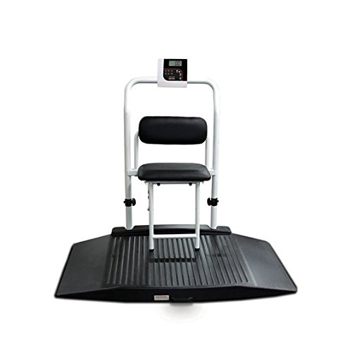 - Rice Lake 350-10-4 Dual Ramp Wheelchair Scale With Seat (141448)