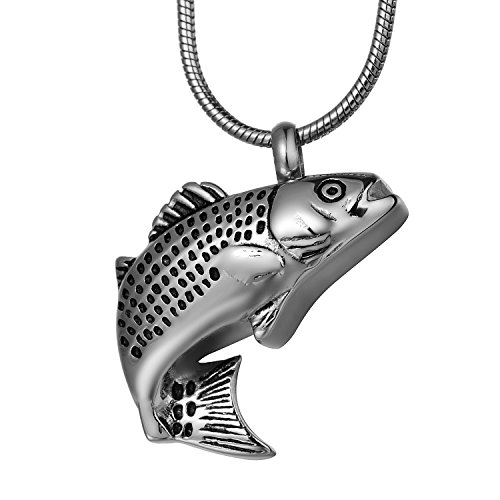 Lucky Fish Ashes Cremation Jewelry - COCO Park Stainless ...