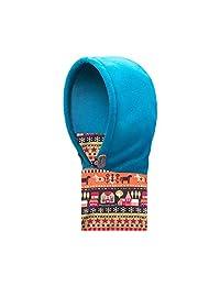 TRIWONDER Balaclava Hat for Kids Face Mask Thermal Fleece Neck Warmer Winter Ski Mask Full Face Cover Cap (Blue - 2017)