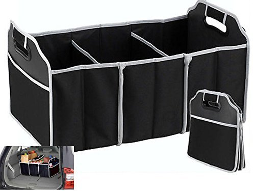 Kabalo 2-in-1 Collapsible Car Boot Trunk Organiser