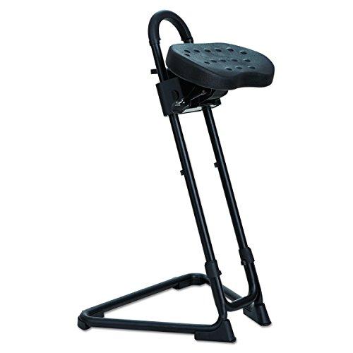 Alera Plus SS600 SS Series Sit/Stand Adjustable Stool, Black by Alera