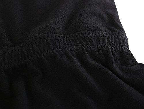 al per Camicia ZUMIY da Black Sleep Allattamento per Allattamento Top Bra Seno Gravidanza l'allattamento awnwxPf