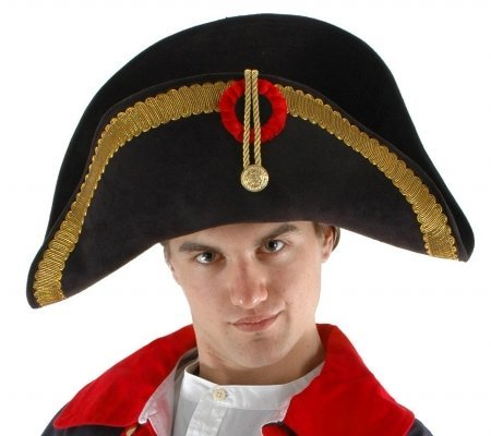Napoleon Hat Costume Accessory (Hat Napoleon)