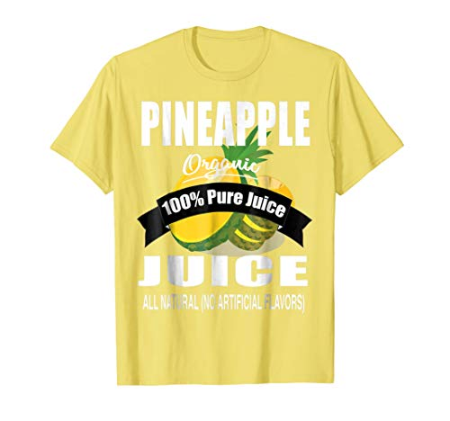 Juice Box Halloween Costume: PIneapple Juice Shirt