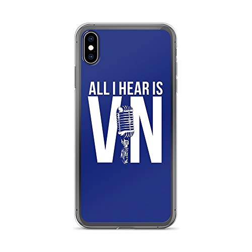 iPhone Xs Max Pure Clear Case Cases Cover Vin Scully (Best Of Vin Scully)