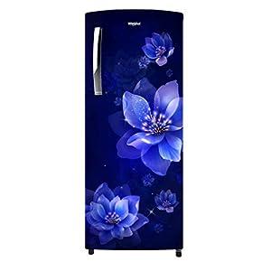 Whirlpool 215 L 3 Star Direct-Cool Single Door Refrigerator (230 ICEMAGIC PRO PRM 3S, Sapphire Mulia)