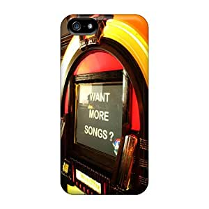 Iphone 5/5s Jukebox Tpu Silicone Gel Case Cover. Fits Iphone 5/5s