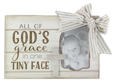 Wood God's Grace 4X6 Picture Frame