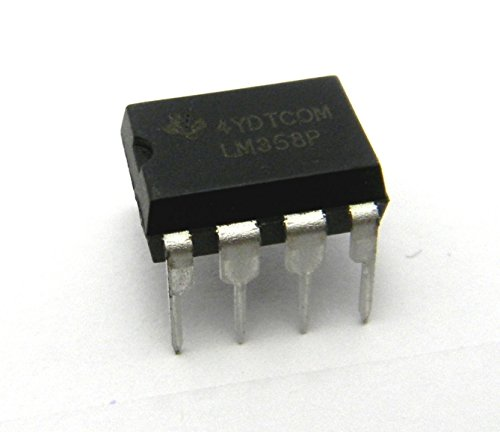 PoiLee 30pcs IC LM358 Operational Amplifier LM358N LM358P DIP-8 Dual op-amp