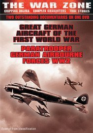 The War Zone~Great German Aircraft of WWI & Paratrooper German Airbourne Forces WW2 (PAL) (ALL REGIONS)