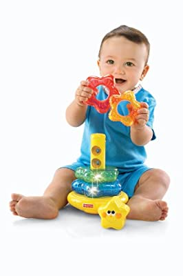 Fisher-Price Brilliant Basics Little Super Star Classical Stacker from Fisher Price