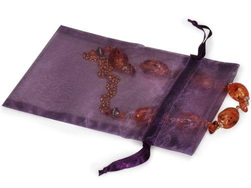 Organza Taschen 12,7 x 17,8 cm mit Lila Satin drawstrings10 Pack B00K4V1NE2 Geschenkpapier Gewinnen Sie hoch geschätzt