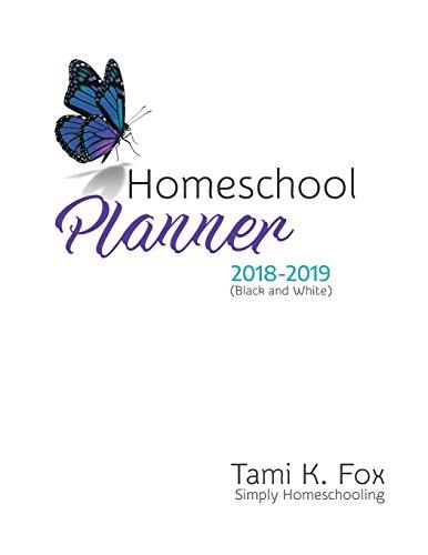 Homeschool Planner (Black & White) 2018-2019 [Fox, Tami K] (Tapa Blanda)