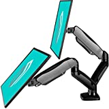ONKRON Dual Monitor Desk Mount for 13 to 27-Inch LCD LED Computer TV Screens up to 14.3 lbs G160