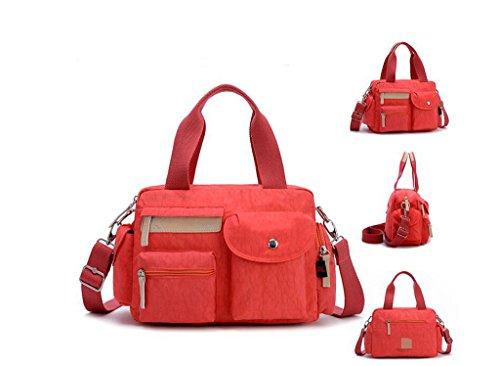 Dfhjbhjb Simple Imperméable Paquet Sac Nylon Carré Bag Han Petit Messenger Édition Orange Bandoulière À En Mlle Féminin 1fn1qrpwx