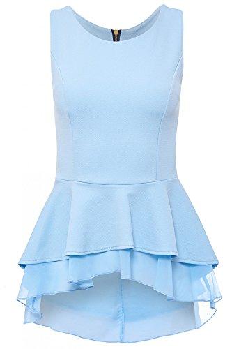 Camicia maniche donna Dreams Senza chiaro Laeticia Blu 6w57Awq