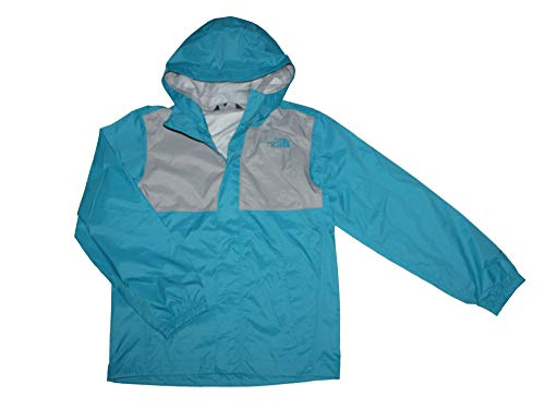 The North Face Youth Boys James Shell 2 RAIN Jacket Brilliant Blue (Large 14-16)