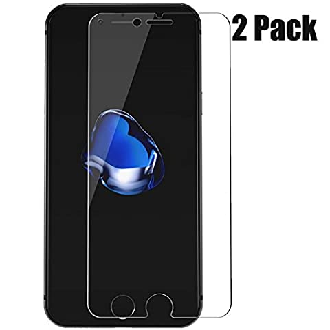 iPhone 6/6s Screen Protector,iBarbe 9H Tempered Glass HD Clear film Cellphone Screen Protector 3D Touch Compatible Anti-Fingerprint Oil Stain Scratch Coating Bubble Free [2 Packs,4.7 Inch]