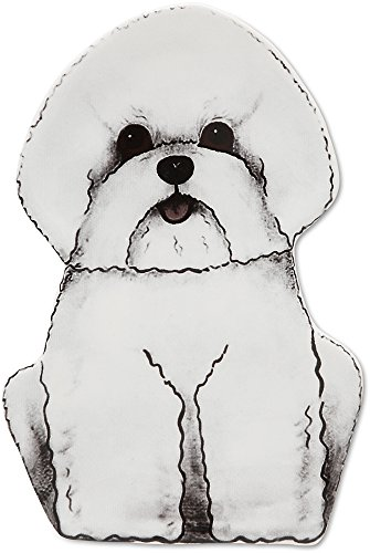 Animal Spoon Holders - Bichon Spoon Rest, 7-Inches