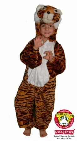 Safari Plush Costume Tiger- Medium