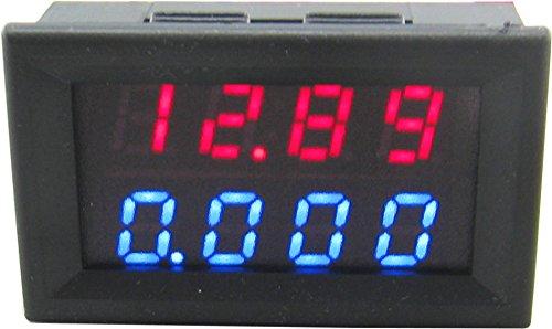 yeeco-028-led-4-bits-0-3300v-0-3000a-digital-voltmeter-ammeter-2in1-multimeter-voltage-amperage-mete