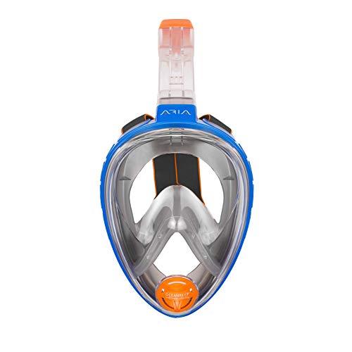 Ocean Reef ARIA Classic Full Face Snorkeling MaskSnorkeling Mask BlueSize L/XL