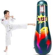 MoKo Inflatable Punching Bag, Punching Bag for Kids Adults Free Standing Boxing Bag Kids Punching Bag Fitness