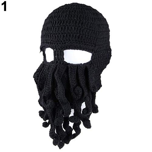 840006719 ink2055 Fashion Hats Creative Tentacle Octopus Knit Beanie Hat Cap ...