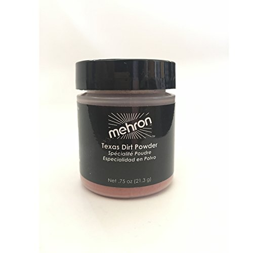 Mehron Texas Dirt Special Effects Makeup Powder (0.75 oz), Medium -